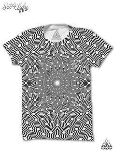 Each piece is truly special because no two garments are exactly the same. With this all-over type printing you may expect some minor inconsistency in the form of white wrinkles that can appear along seams, near the collar, or around the arm pit in the fabric. Nothing can be done to prevent these and no returns will be issued for this reason.  *Please Note: There is approximately a 25 business day production period + shipping for our premium shirts.. they are made one at a time, especially…