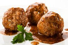 baked gluten free meatballs