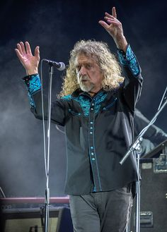 Robert Plant performs with The Sensational Space Shifters at the Cruilla Summer…