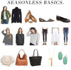 jillgg's good life (for less) | a west michigan style blog: 16 seasonless basics!