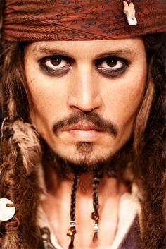 Johnny Depp Makeup Jack Sparrow
