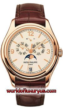 5146R-001 - This Patek Philippe Complicated Annual Calendar Mens Watch, 5146R-001 features 39 mm 18kt Rose Gold case, Off White dial, Rose Gold Luminous Hands, Sapphire crystal, Fixed bezel, and a Alligator/Crocodile Leather Brown Strap. - See more at: http://www.worldofluxuryus.com/watches/Patek-Philippe/Complicated-Collection/5146R-001/46_55_8001.php#sthash.R1SIG2Bl.dpuf