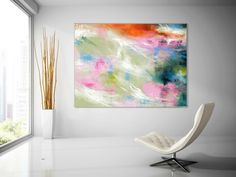 Extra Large Wall Art Palette Knife Artwork Original Painting,Painting on Canvas Modern Wall Decor Contemporary Art, Abstract Painting Texture Painting On Canvas, Canvas Paintings, Large Painting, Abstract Paintings, Animal Paintings, Canvas Art, Hallway Art, Hallway Ideas, Bathroom Paintings