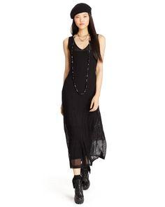 Pointelle-Knit Maxidress - Polo Ralph Lauren Maxi Dresses - RalphLauren.com