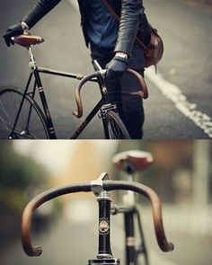 Pure style #fixie #fixed #fixedgear #singlespeed #urban #street #style #fashion #race #track #city #riding #cycle #cycling #cyclist #bike #bicycle #time #amazing #cool #black #leather #style