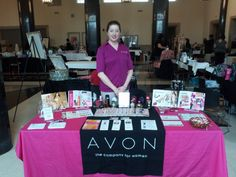 Join Avon Team Awesome and I will train you to run a successful booth at any type of event! http://www.AwesomeBeautyBiz.net