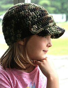 Although my few crocheting attempts have been nothing short of disastrous, I WANT A HAT LIKE THAT. | Website with modern patterns for crochet hats