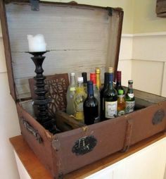 13 DIY Clever Ways How To Re purpose Old Vintage Suitcase