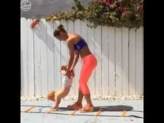 A healthy mom exercises with her baby http://youtu.be/mbx5jz-sEvw A healthy mom exercises with her baby  For More Funny Videos Subscribe Our Channel