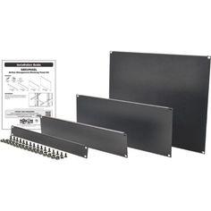 Tripp Lite Rack Enclosure Server Cabinet 4 Piece Blanking Panel Kit 19 In - Cold Rolled Steel - 4 Pack - 19' Width (srxupanel)