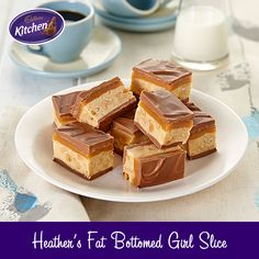 One taste of this slice and you'll be in heaven! Ingredients include: peanut butter, marshmallow, chocolate and peanuts. NB: American substitute for Golden Syrup would be corn syrup.