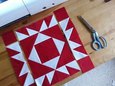 Tales of Cloth: Union Square - Red Sky at Night Quilt