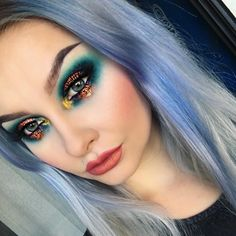"""""""Did this look on snapchat today! Username: alyssamariemua Primer: @benefitcosmetics POREfessional Foundation: @makeupforeverofficial Ultra HD Y225,…"""""""