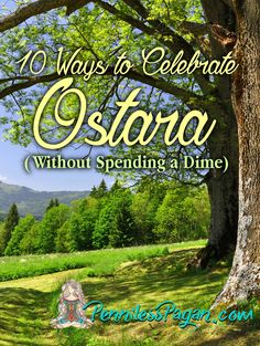 Natural ways to celebrate Ostara, pagan, wiccan, spring equinox