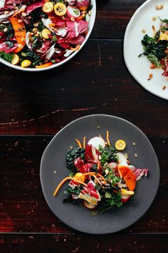 Simple Wintry Salad Nutrition Stripped