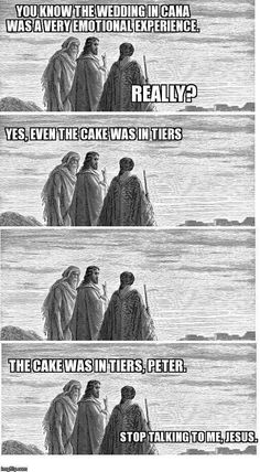 Funny pictures about My Very Catholic Mother Just Sent This To Me. Oh, and cool pics about My Very Catholic Mother Just Sent This To Me. Also, My Very Catholic Mother Just Sent This To Me photos. Funny Pictures Tumblr, Tumblr Funny, Christian Jokes, Christian Sayings, Time Meme, Catholic Memes, Religious Humor, Atheist Humor, Jesus Christ