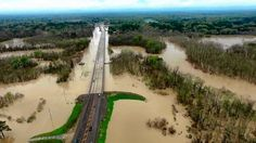 Louisiana Flood 2016 (Aerial Video)