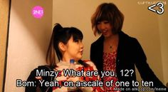 Yeah Bommie~<3  you're one helluva girl ;) | allkpop Meme Center