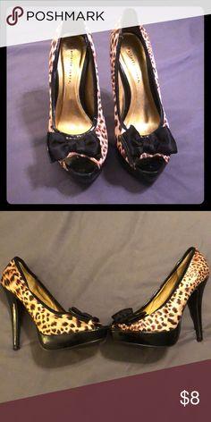 8b235945e8f1 Liliana Leopard Print High Heel in 2018 | My Posh Picks | Pinterest | High  heels, Heels and Shoes heels