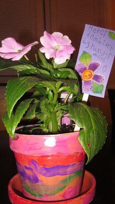 Pin, Planter Pots, Handmade Gifts, Gift Ideas, Projects, Kid Craft Gifts, Hand Made Gifts, Craft Gifts, Diy Gifts