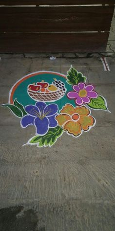 Indian Rangoli Designs, Rangoli Designs Latest, Simple Rangoli Designs Images, Beautiful Rangoli Designs, Peacock Rangoli, Kolam Rangoli, Alpona Design, Little Krishna, Beginner Henna Designs