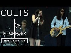 """Cults perform """"You Know What I Mean"""" at Pitchfork Music Festival 2012"""