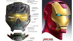 映画では登場しなかったガジェットの数々が見られる『アイアンマン』のコンセプトアート03