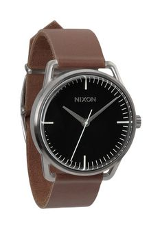 As stylish and minimal as the sleekest of midcentury midtown corner offices, The Mellor's romantic minimalism moves easily from martini lunch to commuter rail. Its unmistakable good looks - a handsome stainless and crystal case with imported leather band - are only surpassed in quality by its 3-hand Japanese quartz movement. So no matter whom you decide to be today - you'll always look the part.