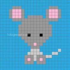 Zoodiacs mouse c2c graph | www.1dogwoof.com More
