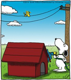 Today's funniest funny with an interloper from another comic strip.