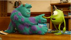 monsters university mike and sulley handshake