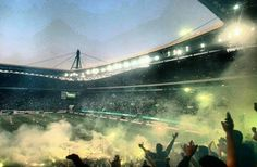 #sporting #pyro Ronaldo Juventus, Scp, Faith, Sports, Backgrounds, Football, Amor, Palm Trees, Green