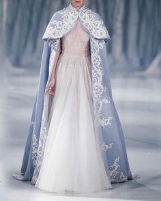 Fashion Friday: Paolo Sebastian A/W Style Couture, Couture Fashion, Woman Fashion, Gothic Fashion, Fall Fashion, Modest Wedding Dresses, Wedding Gowns, Wedding Cape, Wedding Jacket