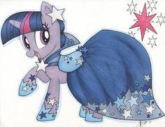 Pretty Party Pony Pinkie Pie by WickedLittleShop on Etsy
