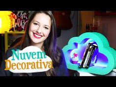DIY - Nuvem Decorativa de Papelão - YouTube