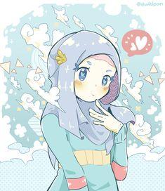 68 Ideas For Drawing Cartoon People Animation Anime Characters Drawing Cartoon Faces, Cartoon Drawings Of People, Cartoon People, Cartoon Art, Muslim Images, Islamic Cartoon, Hijab Cartoon, Kawaii, Cool Cartoons