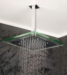 Stunning Square Clear Shower Head , Wide Range Selection Of Shower Fixtures: Modern and Most Sophisticated Shower Heads For Your Contemporary Bathroom Look In Bathroom Category Modern Shower, Modern Bathroom, Master Bathroom, Beautiful Bathrooms, Dream Bathrooms, Small Bathroom, Bathroom Renos, Bathroom Furniture, Bathroom Ideas