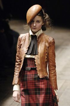 Tartan  leather love