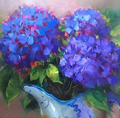 Dewdrop Blue Hydrangeas 14X14 sm.jpg