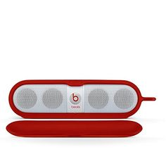 The Beats Sleeve for Pill Portable Speaker is a durable silicone bumper for Pill to protect your playlist while you are on the go. Exclusive for Beats by Dr. Dre Pills only. | For more pins and updates on Portable Speakers Accessories, follow Best Buy Portable Speakers (www.pinterest.com/bestbuyspeakers/)