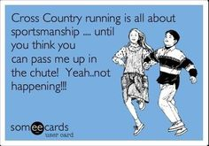 Remember those cross country runs at high school!