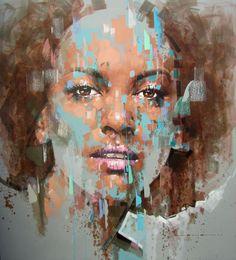 Beautiful Black Women, Simply Beautiful, Jimmy Law, Contemporary Paintings, Illusions, Photo Art, Sky, Gallery, Favorite Things
