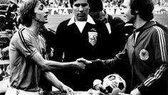 cruyff y beckenbahuer, final copa del mundo 74