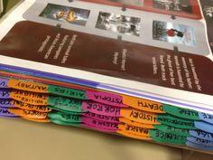 reading list binder