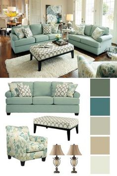 With its soft hues and even softer cushions, this couch is a fabulous way to breathe fresh air into your living room's décor. Accent it with your favorite pillows and design touches to create an inviting space you'll love.