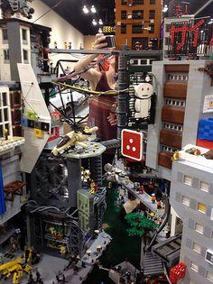 Our Top 10 Modern house designs – Modern Home Lego Ninjago City, Lego City, Lego Words, Lego Sculptures, Lego Craft, Lego Modular, Lego Construction, Cool Lego Creations, Lego Architecture