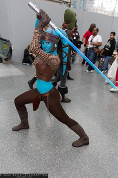 Aayla Secura (Star Wars) #Jedi #Cosplay