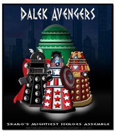 Dalek Avengers! - from Daily Dalek