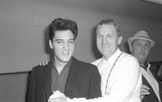 Elvis, Ken Moore and the Colonel on a train in Ft. Worth, TX - April 19, 1960  Photo courtesy David English