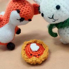Ria Art: Crochet Pumpkin Pie Recipe (Pattern)